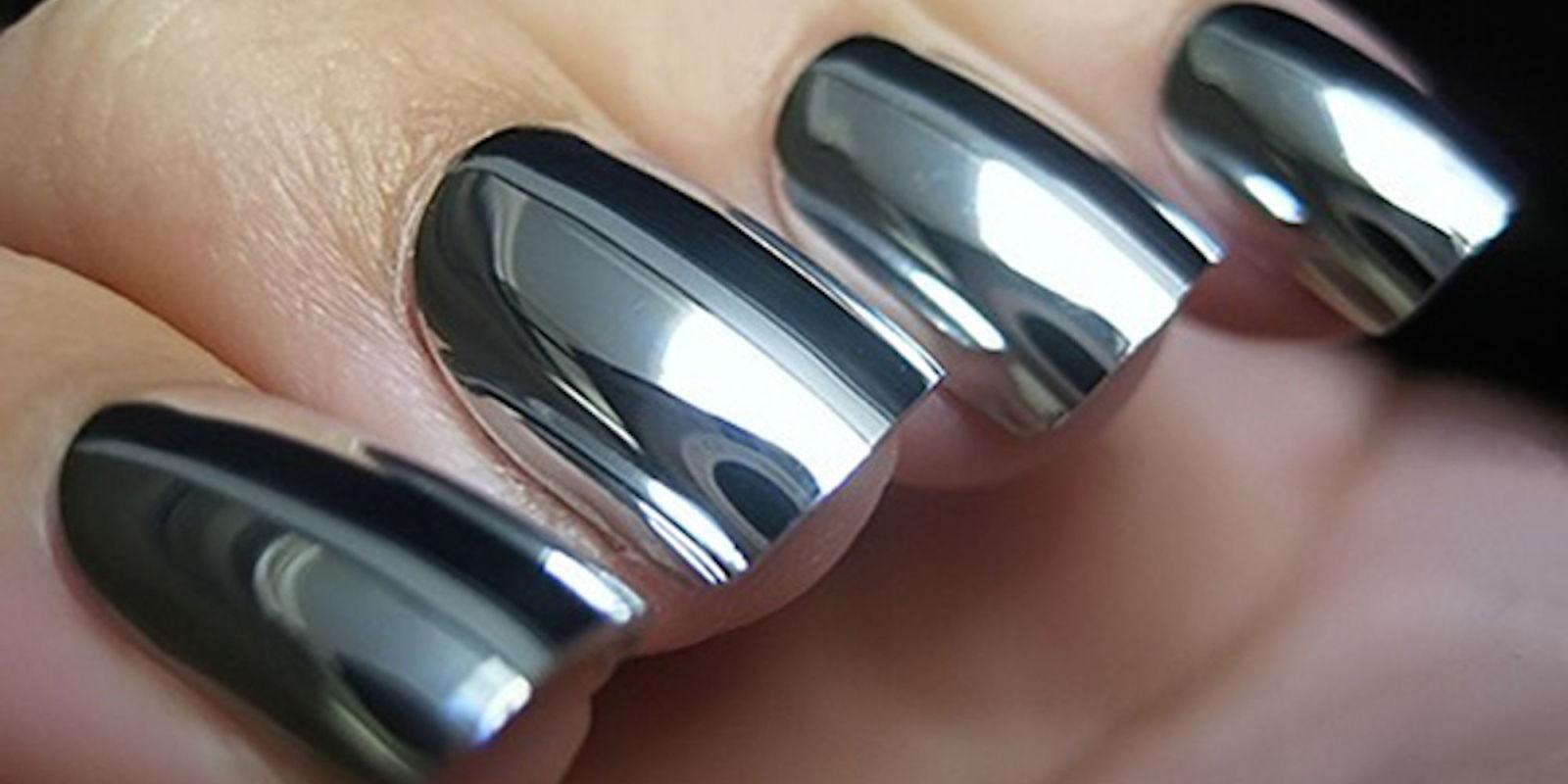 Chrome Nails Czyli Lustro Na Paznokciach Piwnooka