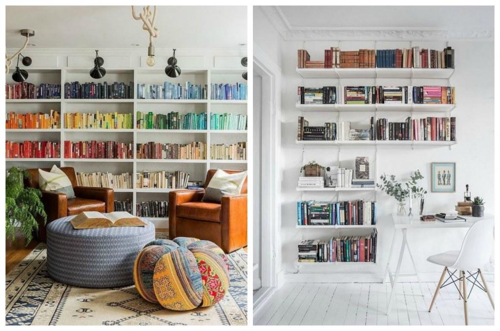 Książki W Salonie Sypialni Czy W Kuchni Jak Pięknie Je