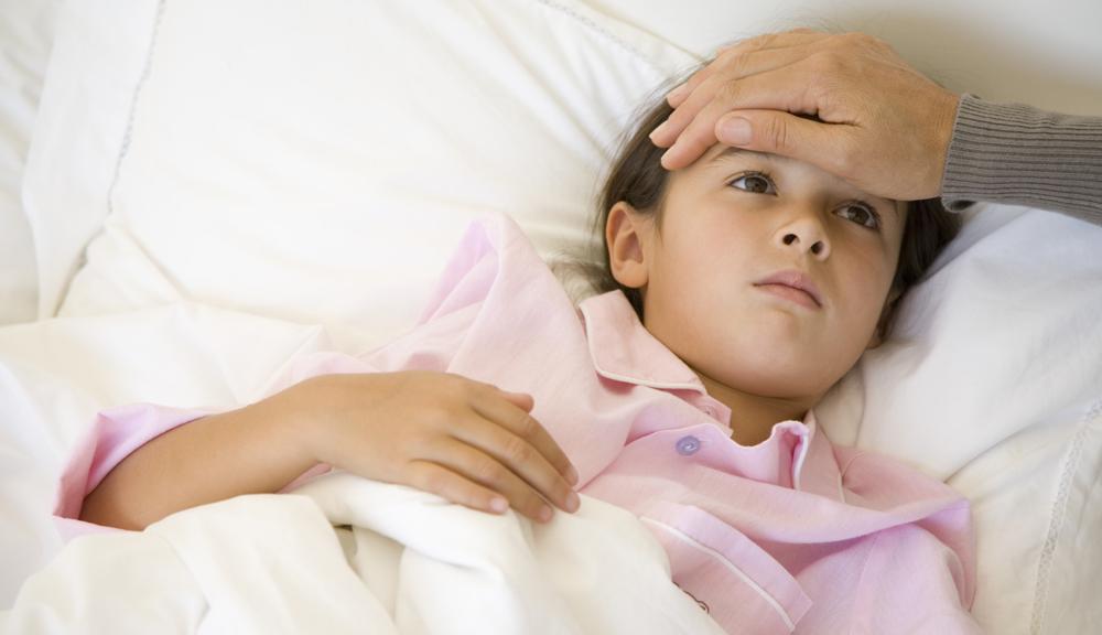 zbijanie gorączki u dzieci